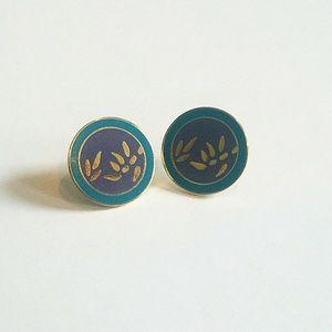 Laurel Burch Jewelry - Vintage Laurel Burch Fun Geometric Stud Earrings